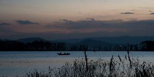 Lake Naivasha at dusk