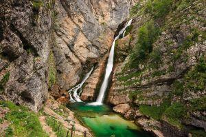 Cascada Savica / Savica Waterfall